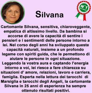 cartomante sensitiva Silvana