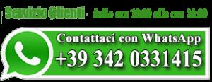 servizio clienti con whatsapp